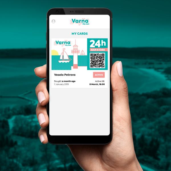 Varna City Card, 24h Adult & Child