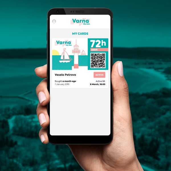 Varna City Card, 72h Adult
