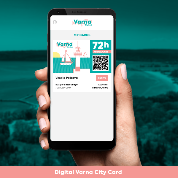Varna City Card 72h Adult & Child