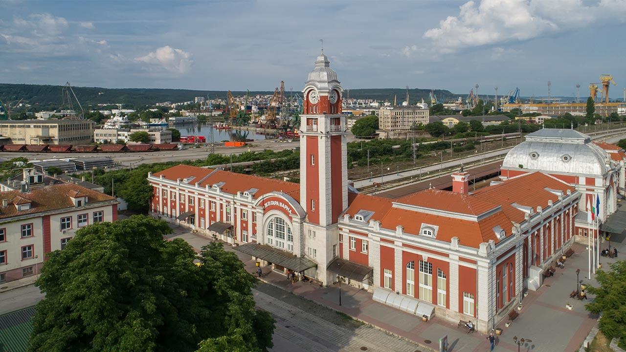 Централна ЖП гара - Варна