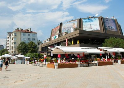 The Festival and Congress Centre in Varna