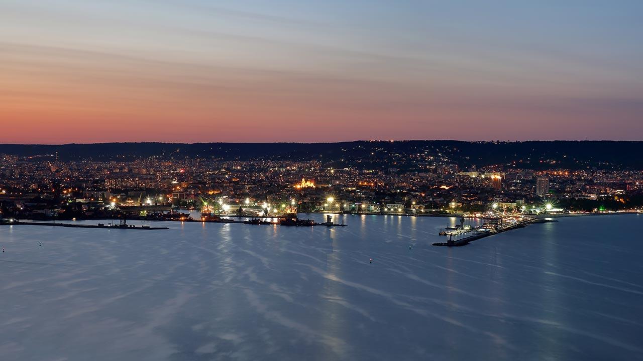 Galata view in Varna