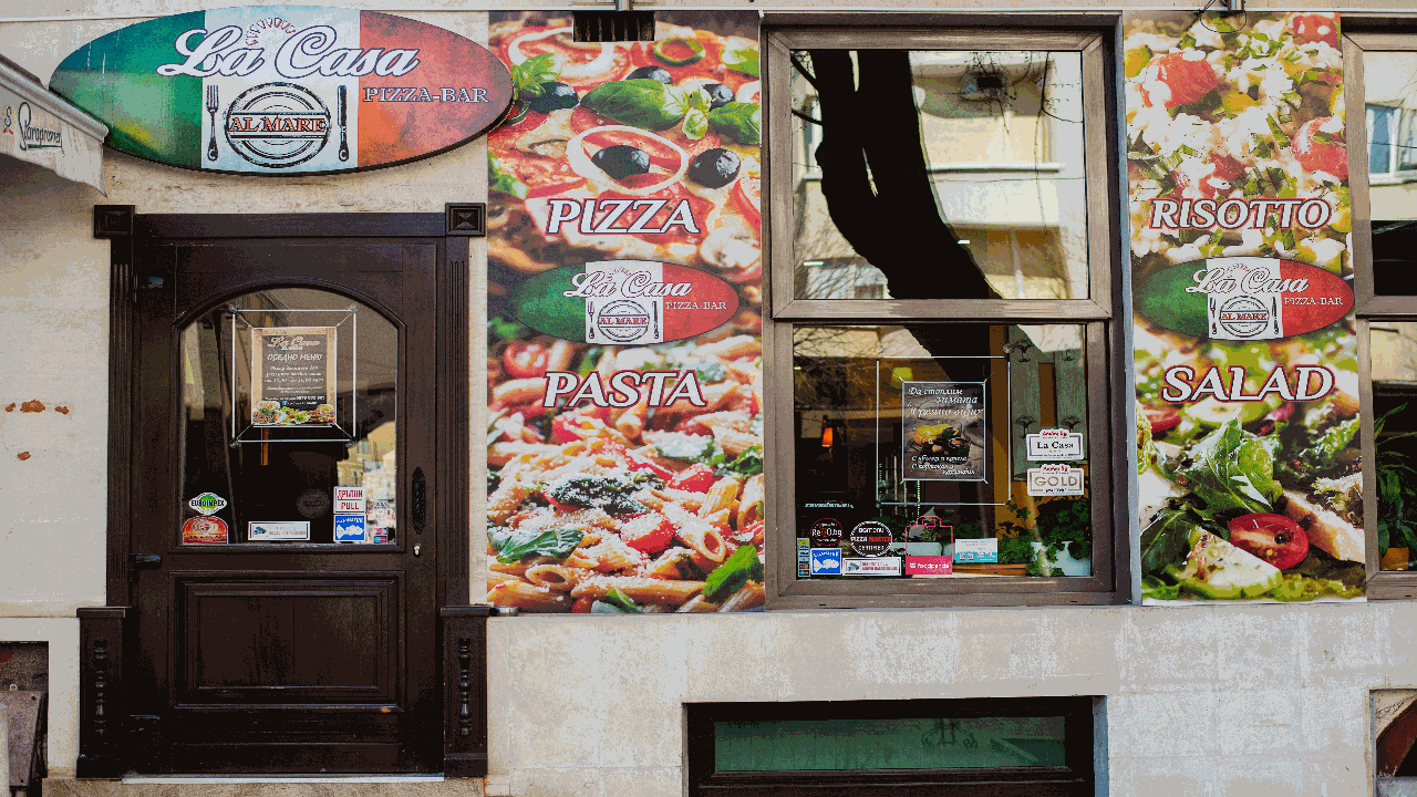 Pizza Bar La Casa al Mare in Varna
