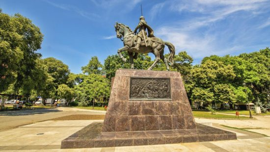 Monument of Tsar Kaloyan in Varna