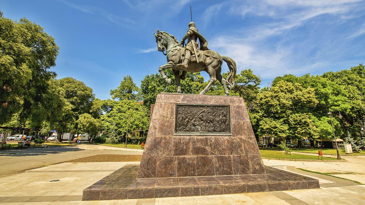 Monument of Tsar Kaloyan in Varna