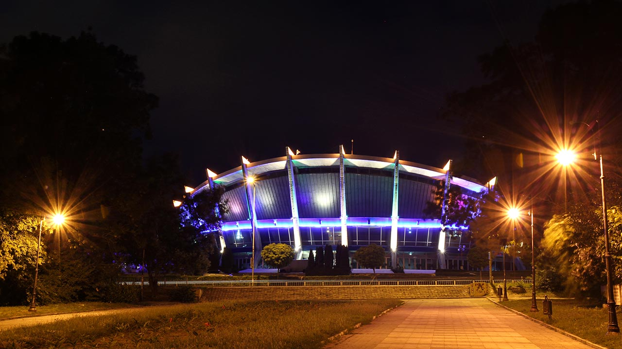 Palace of Culture and Sports in Varna