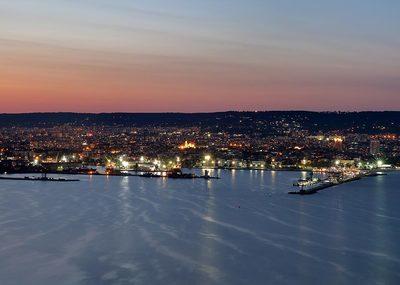Панорамна гледка Галата във Варна