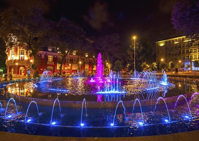 Singing fountains in Varna