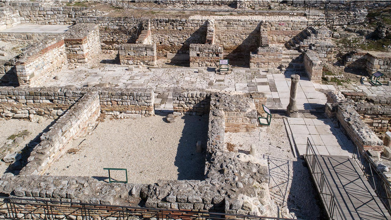 Small Roman Thermae in Varna