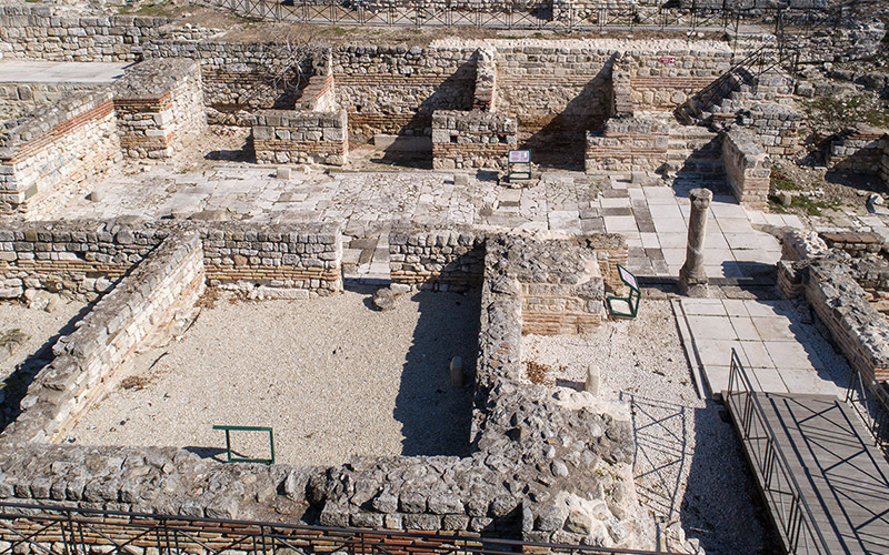 Small Roman Thermae, Varna