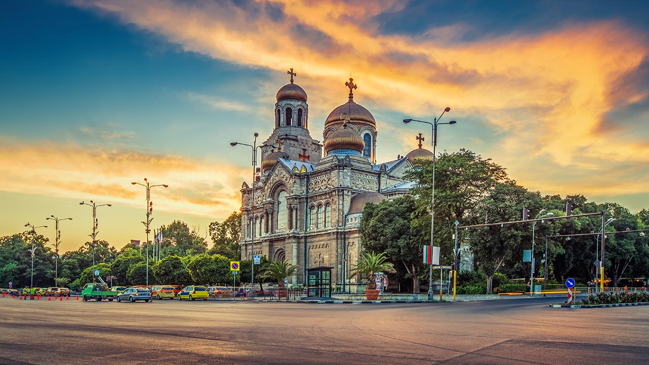 Dormition of the Mother of God Cathedral in Varna