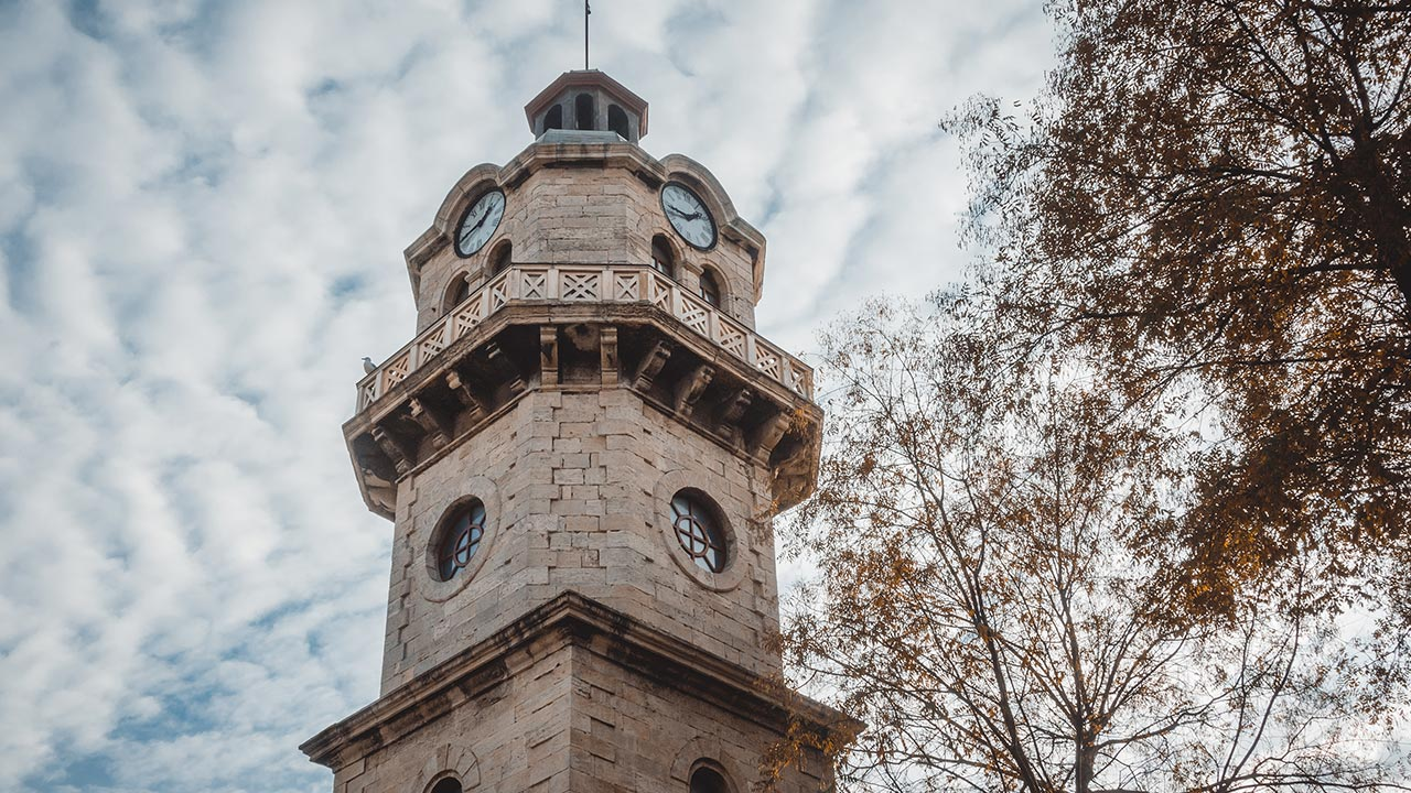 The Clock Tower in Varna