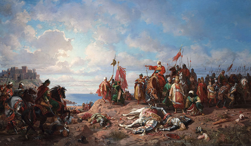 The death of king Wladyslaw II at Varna