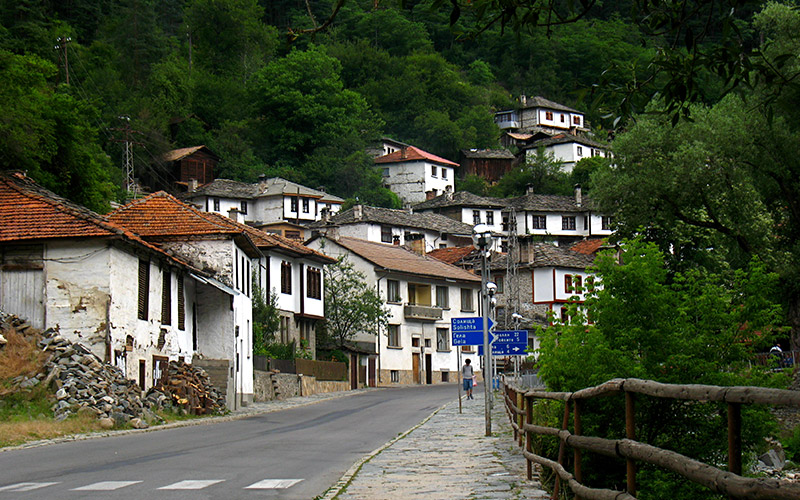 Shiroka Laka village, Bulgaria