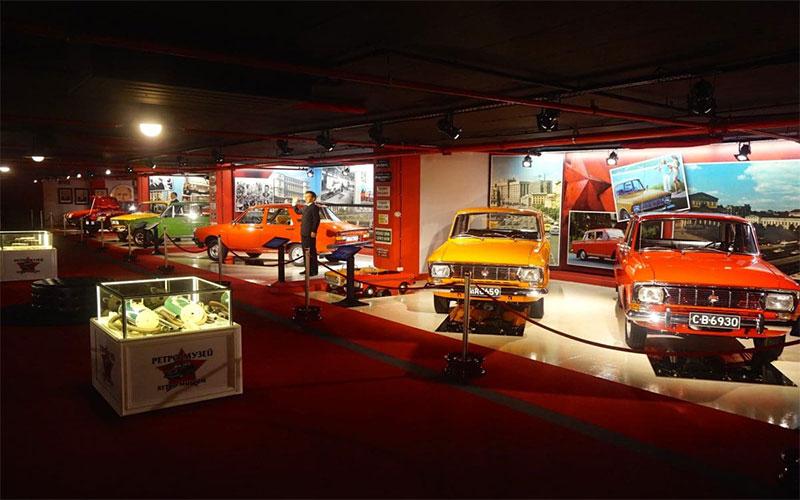 Retro Museum in Grand Mall Varna