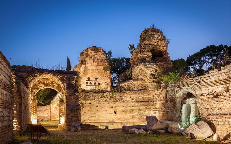 Roman Thermae in Varna