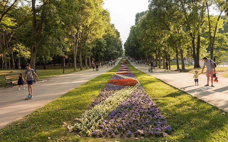Sea Garden in Varna