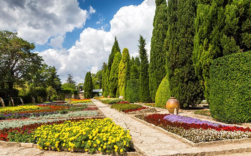 Balchik botanical gardens, Bulgaria