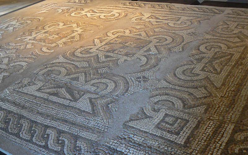 Devnya mosaics, Bulgaria
