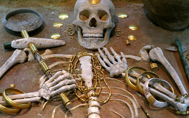 Златно съкровище, Варненски археологически музей