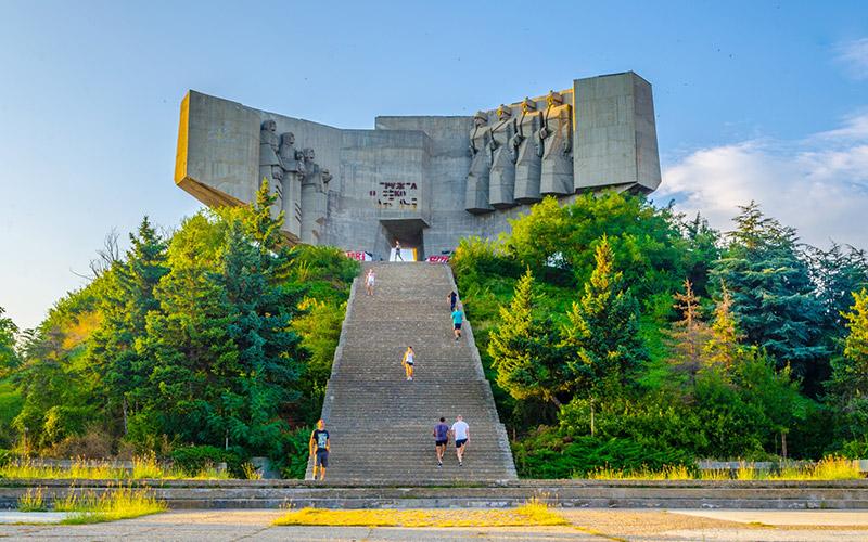 Park-monument of the Bulgarian-Soviet friendship, Varna