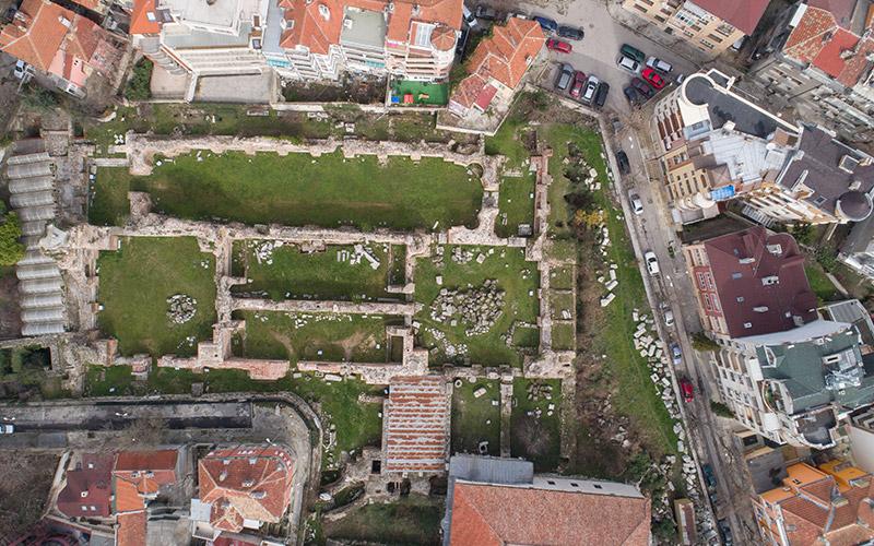 Римски терми, Варна