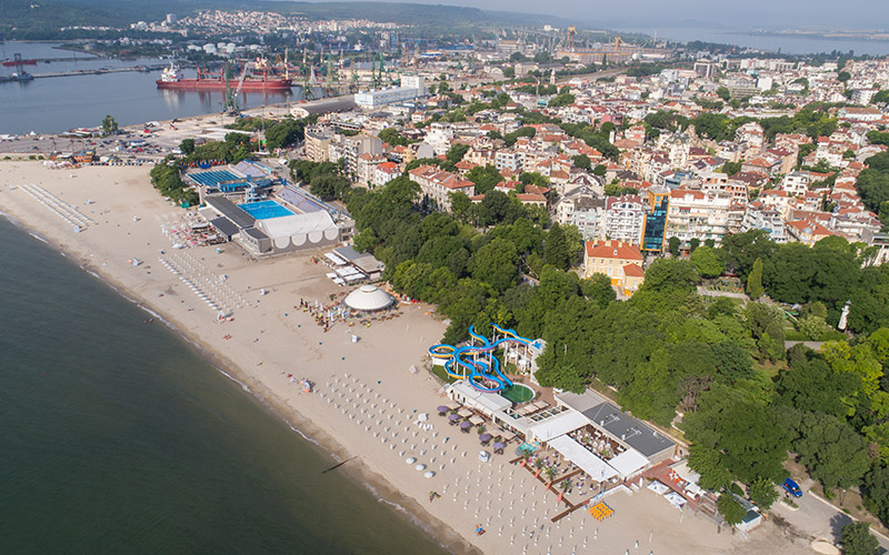 Varna during the summer