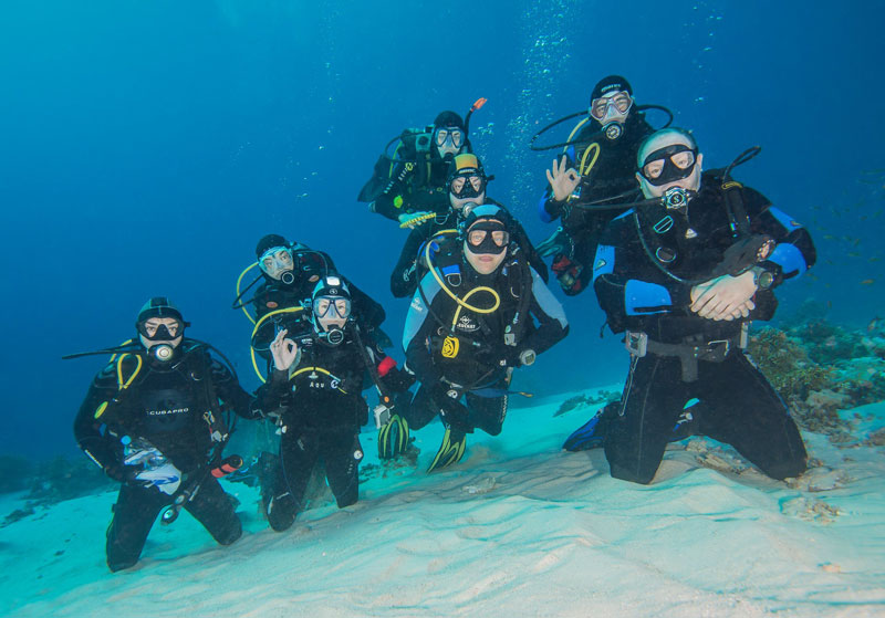 Scuba diving in Varna