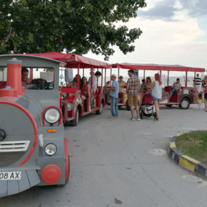 Tourist Attraction Train in Varna
