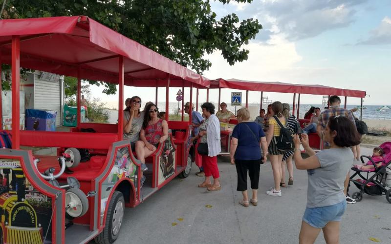 Tourist Attraction Train Varna
