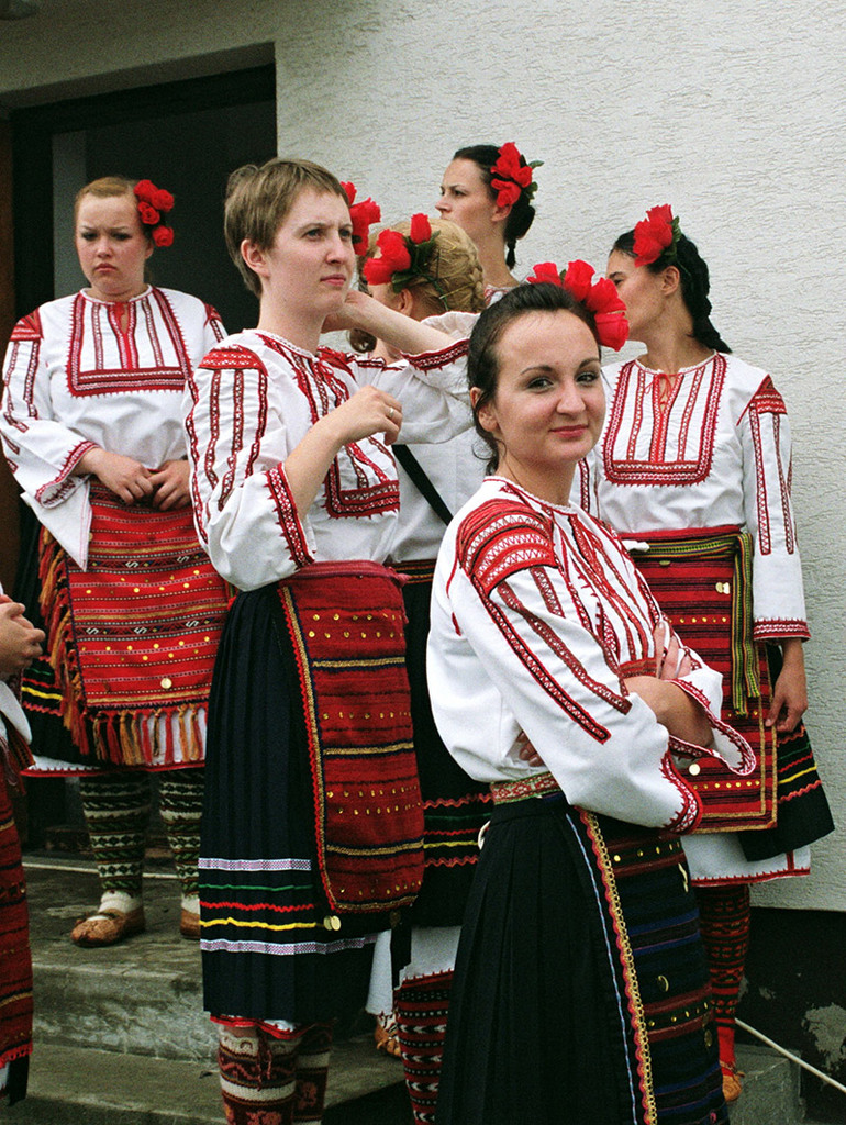 Traditional Bulgarian folk costumes