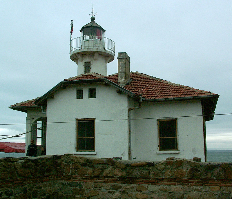 Saint Anastasia Island lighthouse © Bela Benova, September 2007